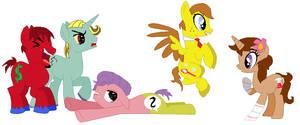 Spongebob and Friends as Ponies