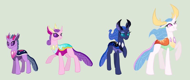 Princesses as Changelings