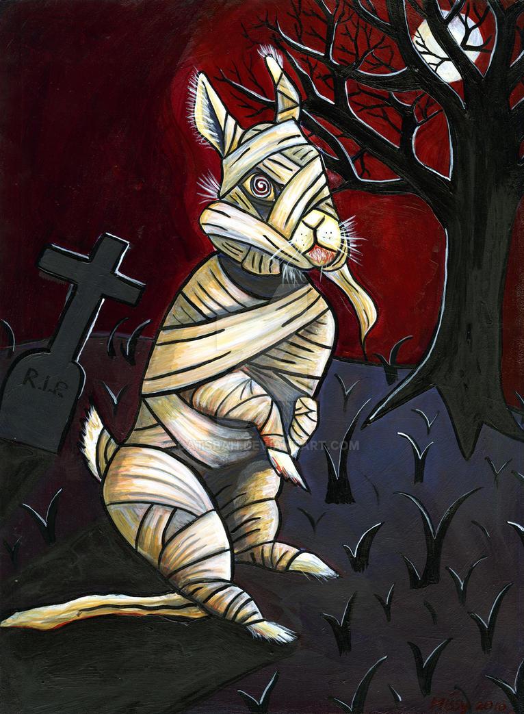 Mummy Bunny by Catsbah