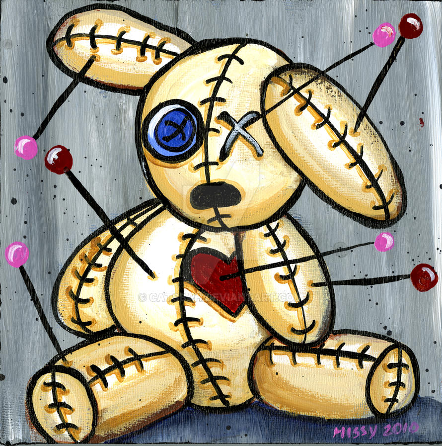 Lonely VooDoo Bunny 1 by Catsbah