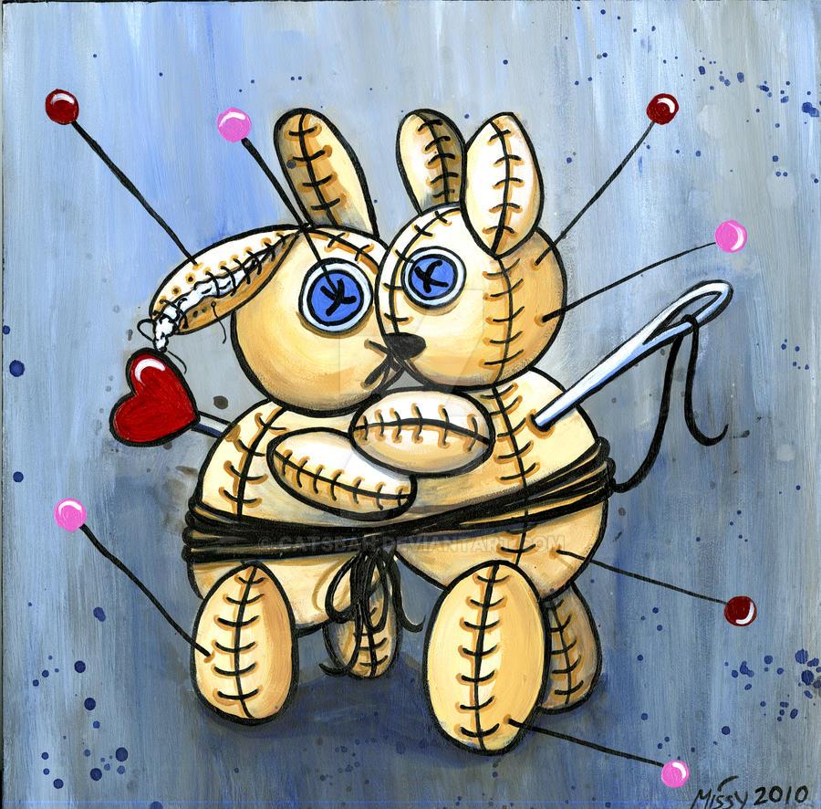 VooDoo Bunny Love Spell by Catsbah