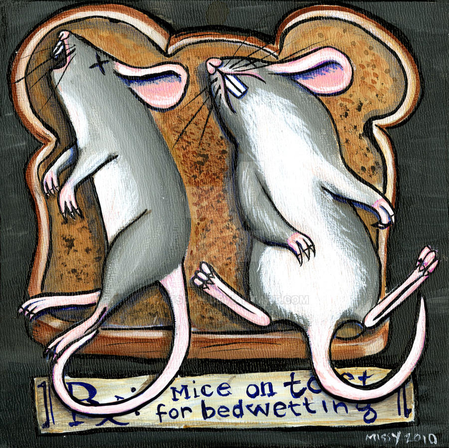 RX: Mice on Toast by Catsbah