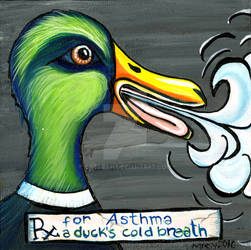 RX: A Duck's Cold Breath