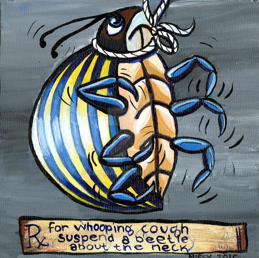 Rx: A Live Beetle