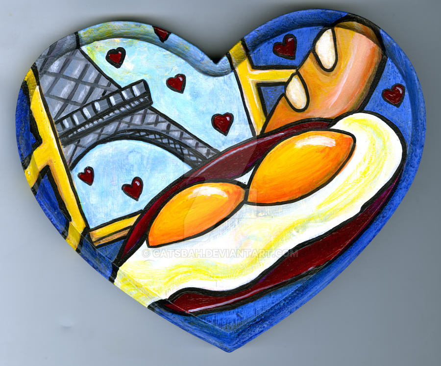 French Eggs by Catsbah