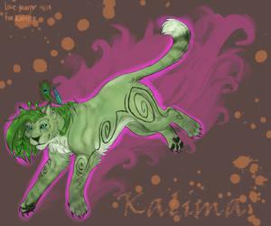 Kalima cat form by blinkifish13