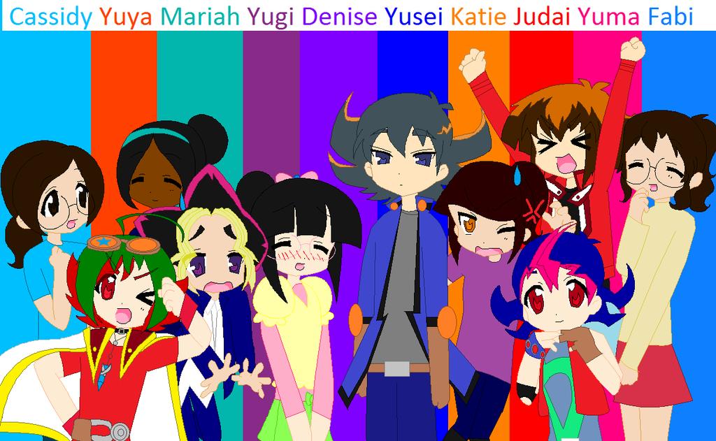 YuGiOh Star by HooeySmarts333
