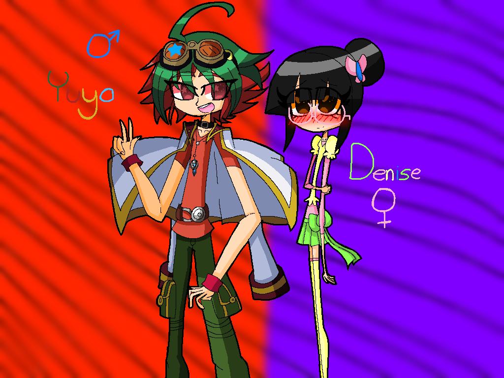 Yuya and Me by HooeySmarts333