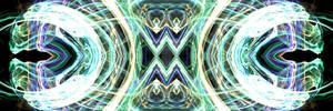 Panoramic Digital Abstract No. 22