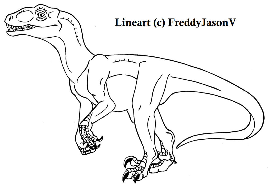 Jurassic World Velociraptor Coloring Pages Coloring Pages