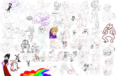 Drawpile #2 by InkHyaena
