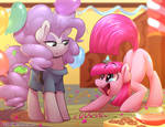 ManeSwap: Maud and Pinkie