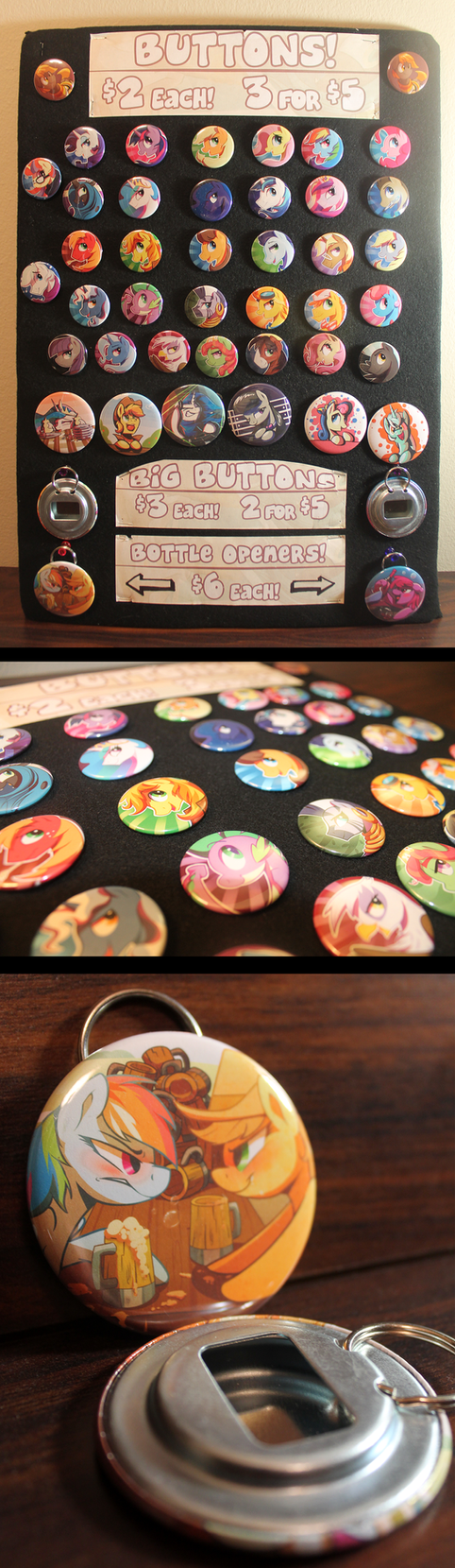Pony pins! by Littleivy25