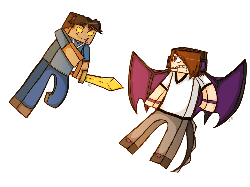 Skybrine and Enderlox? by 1WebRainbowe1 on DeviantArt