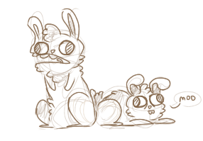 Bunnies? by 1WebRainbowe1