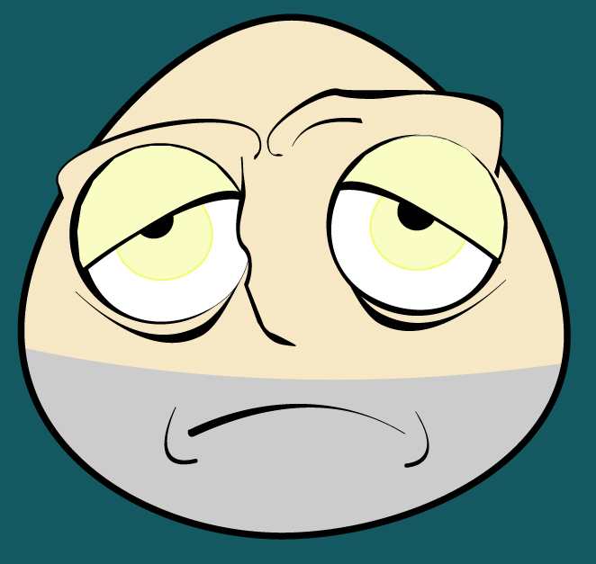 tired face by odvic on deviantart rh deviantart com Scared Cartoon Face Cartoon Mad Face
