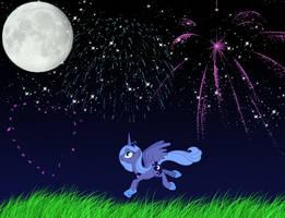 Luna's celebration by lovergirl786