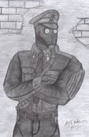 Russian Soldier 4 by CzechBiohazard