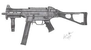 HK UMP 45 by CzechBiohazard