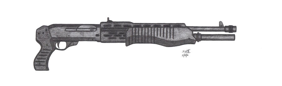 Franchi SPAS-12 by CzechBiohazard