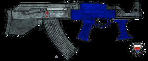 Fictional Firearm: HC-105 Assault Rifle