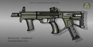 Fictional Firearm: HC-SG103c Submachine Gun