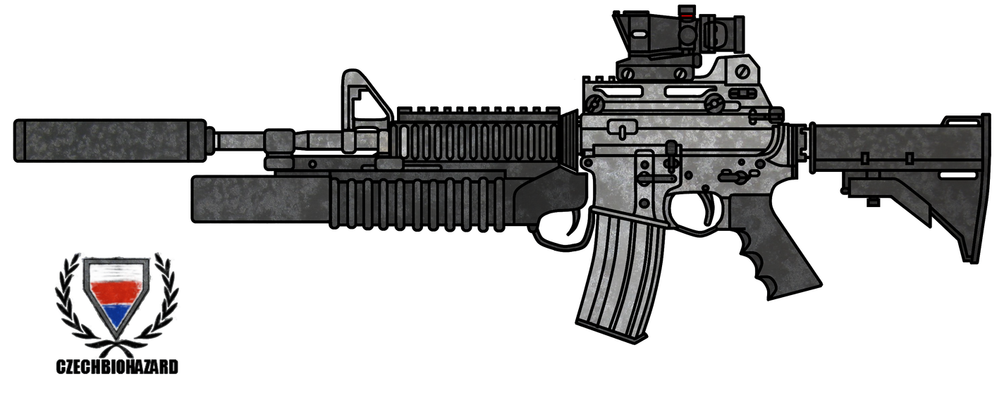 Colt M4A1 Customized by CzechBiohazard on DeviantArt