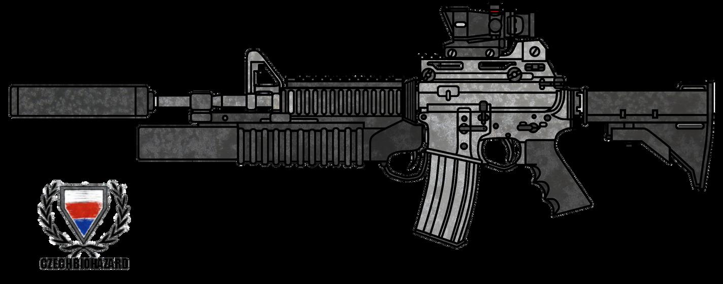 Colt M4A1 Customized by CzechBiohazard on DeviantArt