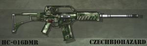 Fictional Firearm: HC-016 DMR