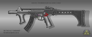 Fictional Firearm: HC-SG518 Submachine Gun