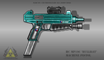Fictional Firearm: HC-MP19C Machine Pistol by CzechBiohazard