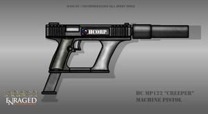 Fictional Firearm: HC-MP122 Machine Pistol by CzechBiohazard