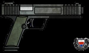 Fictional Firearm: HC-122c Pistol by CzechBiohazard