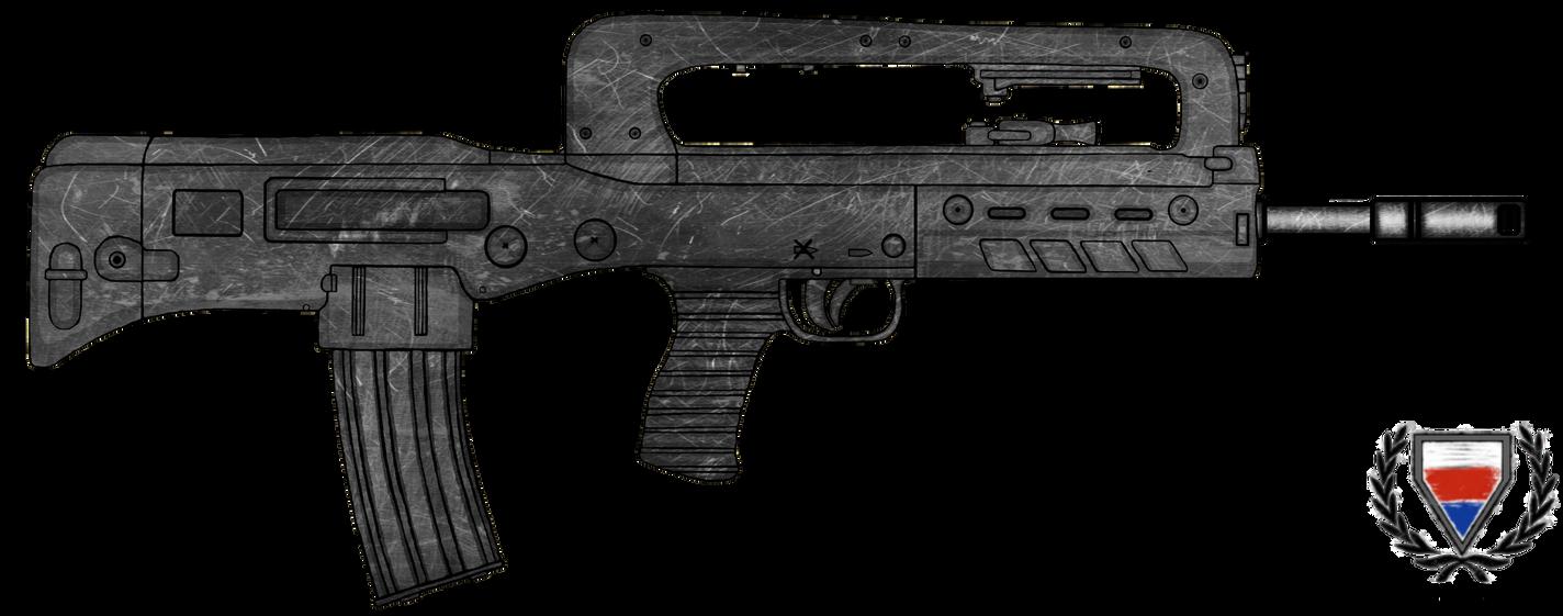 VHS-D Assault Rifle by CzechBiohazard