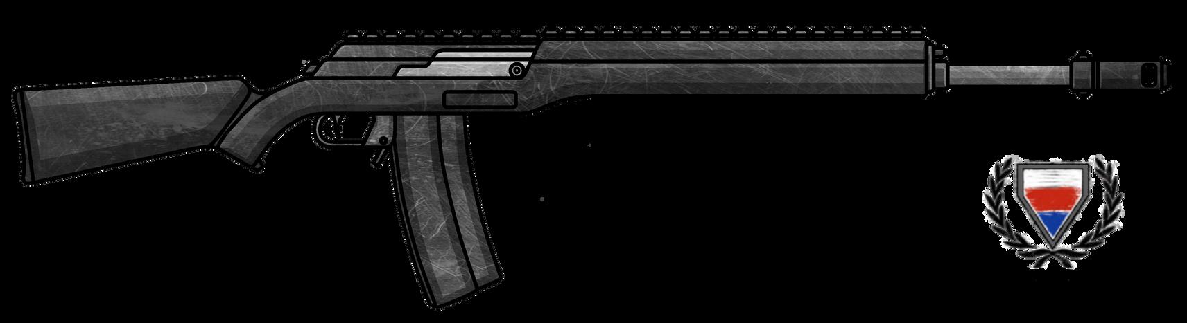 Fictional Firearm: HC-307 Battle Rifle by CzechBiohazard