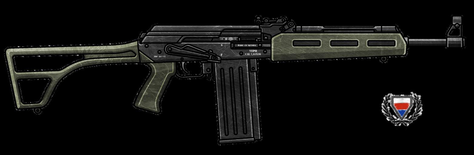 VEPR AK47 .308 Rifle by CzechBiohazard