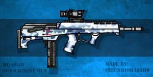 Fictional Firearm: HC-SG45 Submachine Gun