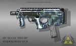 Fictional Firearm: HC-SG419 Submachine Gun