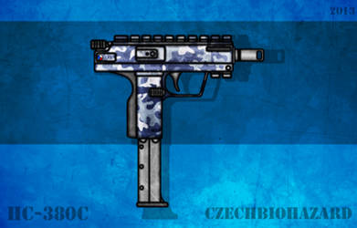 Fictional Firearm: HC-380c Machine Pistol by CzechBiohazard