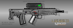 Fictional Firearm: HC-AR24C [Drake] Assault Rifle by CzechBiohazard
