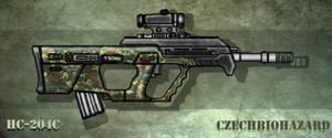 Fictional Firearm: HC-204c Assault Rifle