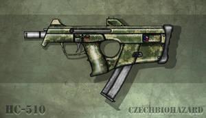 Fictional Firearm: HC-510 Submachine Gun by CzechBiohazard
