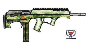Fictional Firearm: HC-545 Submachine Gun