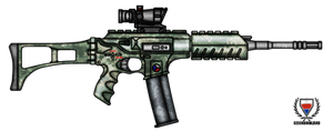 Fictional Firearm: HC-N3A1 Assault Rifle