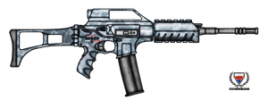 Fictional Firearm: HC-N3A3 Assault Rifle