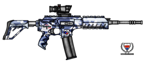Fictional Firearm: HC-N3A4 Assault Rifle