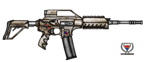 Fictional Firearm: HC-N3A2 Assault Rifle
