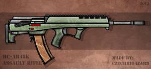Fictional Firearm: HC-AR45k Assault Rifle