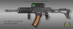 Fictional Firearm: HC-AR805 A4 Assault Rifle