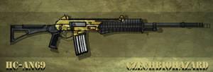 Fictional Firearm: HC-AN69 Assault Rifle